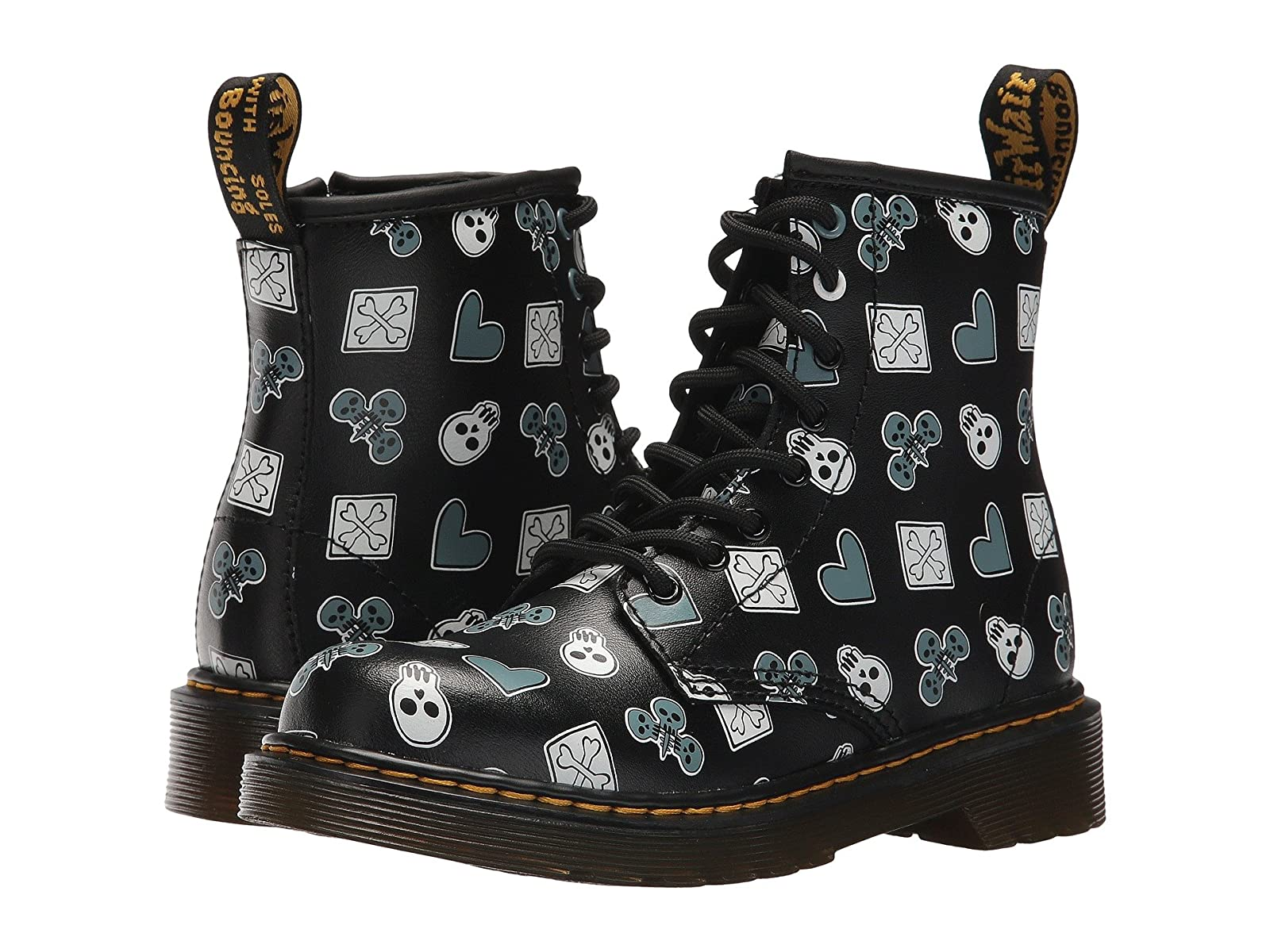 Dr. Martens Kid's Collection Delaney PC Lace Boot (Little Kid/Big Kid)Affordable and distinctive shoes