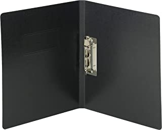 Smead PressGuard Report Cover with Punchless Fastener, Letter Size, Black, 10 per Box (83050)