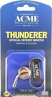 Acme Thunderer 60.5 Finger Grip Whistle Nickel Plated 477/60.5