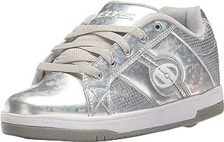 Girl's Split (Little Kid/Big Kid/Adult) Silver/Hologram Sneaker 9 Women's M