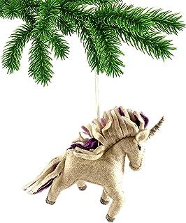 Silk Road Bazaar Magical Unicorn Ornament
