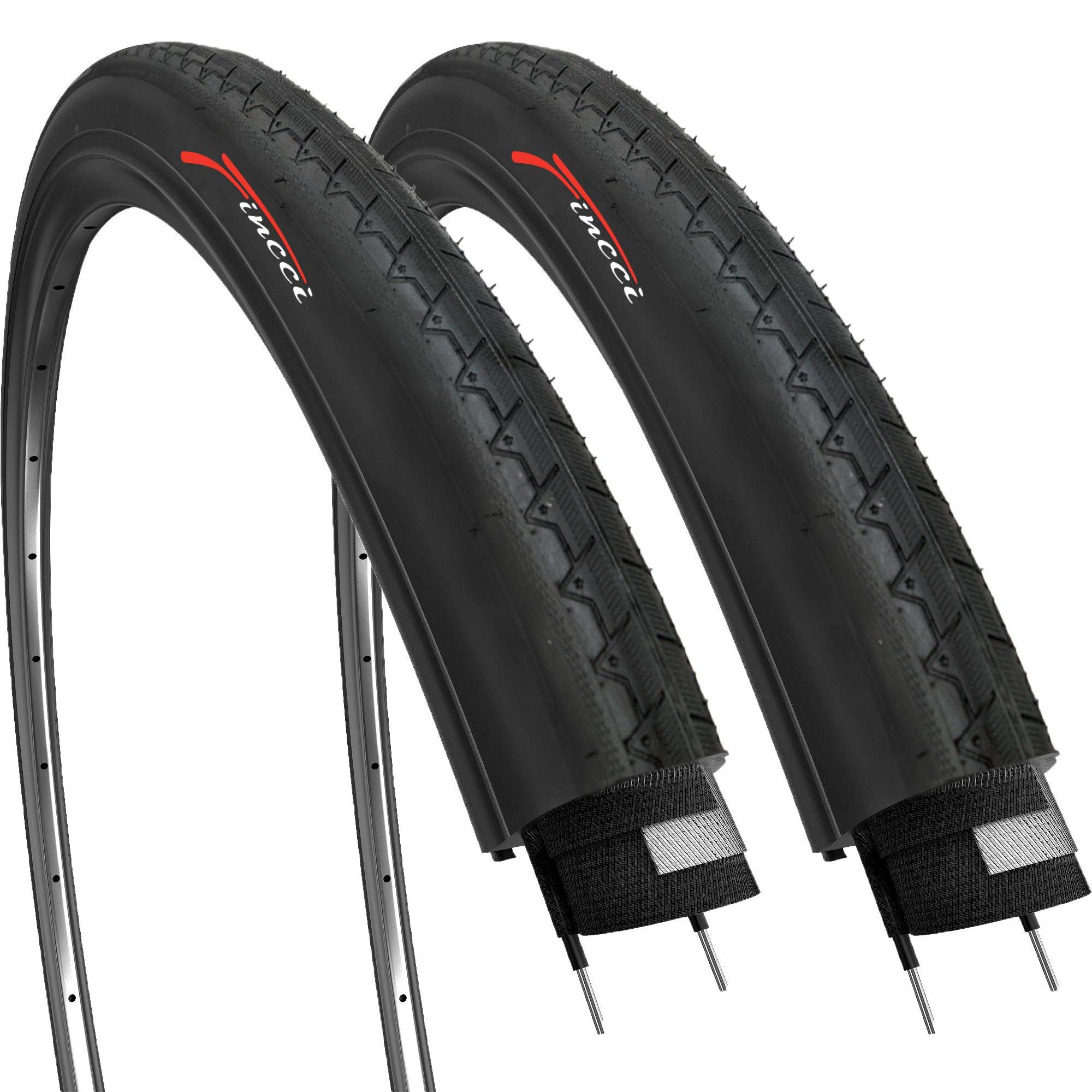 Fincci Par 700 x 28c 28-622 Cubiertas para Ciclo Carrera Carretera ...
