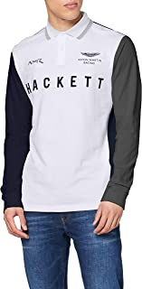 Hackett London Amr Multi LS Polo para Hombre