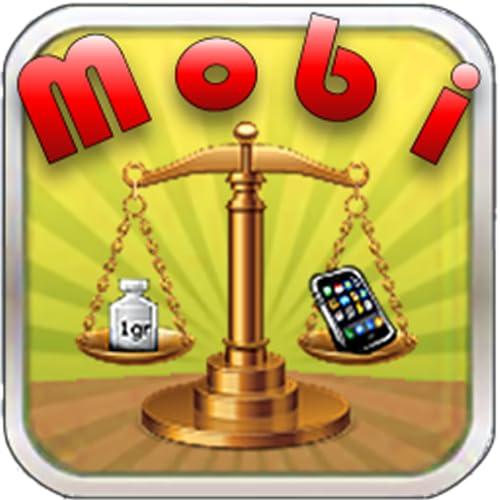 Mobi Scales - Reais de trabalho balanças digitais