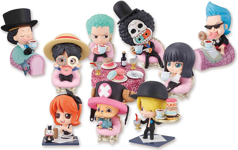 ventas calientes One One One Piece  Wonderland Tea Party Petit Chara Land Series Trading Figura Box of 10 (japan import)  apresurado a ver