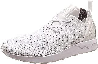 adidas Originals Men's Zx Flux Adv Asymmetrical Primeknit Trainers Crystal US10.5 White