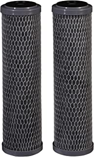 Filtrete Standard Capacity Whole House Carbon Wrap Water Filters, Reduces Chlorine Taste..