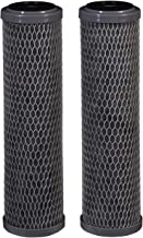 Filtrete Standard Capacity Whole House Carbon Wrap Water Filters, Reduces Chlorine Taste & Odor and Sediment, Universal Filter, Sump Style Drop-In Filter, 2-Filters (3WH-STDCW-F02), Grey