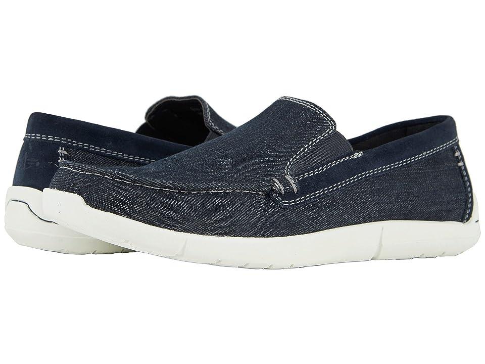 Dockers Ashland 360 Moc Toe Loafer (Dark Blue Denim) Men