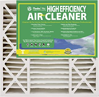 NaturalAire High Efficiency Air Filter, MERV 8, 16 x 25 x 4.5-Inch, 2-Pack