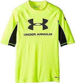 Under Armour Kids - UA Comp Short Sleeve Rashguard (Big Kids)