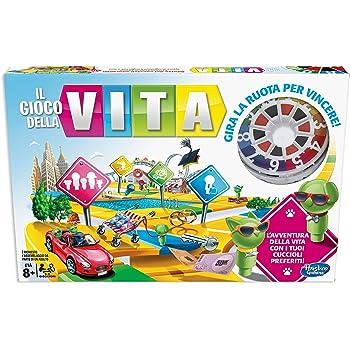 Hasbro Vita (gioco in scatola Gaming, versione in italiano), Single, Multicolore, E4304103