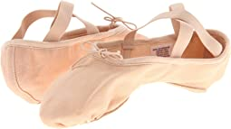 Zenith Stretch Canvas Split-Sole Ballet