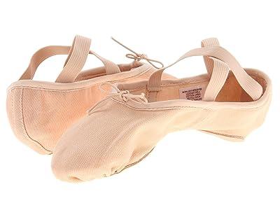 Bloch Zenith Stretch Canvas Split-Sole Ballet (Pink) Women
