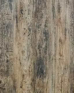 "Wood Wallpaper Wood Grain Wallpaper Self Adhesive Wallpaper Wood Peel and Stick Wallpaper Wood Removable Wallpaper Wall Covering Paper Shelf Paper Liner Texture Vinyl Film Roll Brown 17.7""x78.7"""