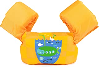 Siran Life Jacket Swim Floaties Kids Swimming Pool Toys Float Vest for Baby/Infant/Toddler 30-50lbs Kids Outdoor Recreation
