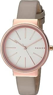 Skagen Women's SKW2481 Ancher Beige Leather Watch