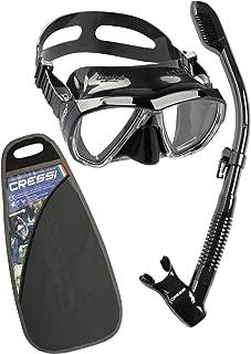Cressi BIG EYES & SUPERNOVA DRY, High Performance Snorkeling Diving Adult Set - Cressi: Quality since 1946