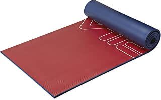 """FILA Accessories Exercise Mat - Extra Thick Yoga Mat for Fitness & Floor Gym Workouts - Includes Carrier Strap, 72"""" L x 24..."""