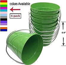 Best green tin pails Reviews