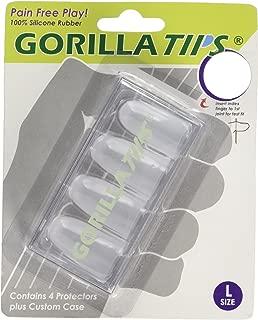 Gorilla Tips Fingertip Protectors, Clear