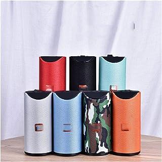 CMDZSW Bluetooth Speaker Portable Outdoor Speaker Wireless Sound Column 3D 10W Stereo Music Surround Sound for FM TFCard B...