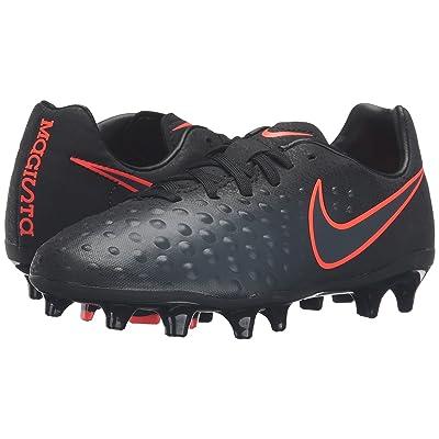 Nike Kids Jr Magista Opus II FG Soccer (Toddler/Little Kid/Big Kid) (Black/Black) Kids Shoes