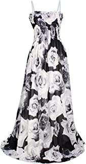 MayriDress Maxi Dress Plus Size Clothing Black Ball Gala Party Sundress Evening Long Floral Women
