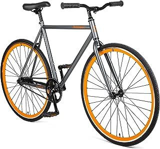 Retrospec Harper Coaster Fixie Style Single-Speed Commuter Bike with Foot Brake (Renewed)