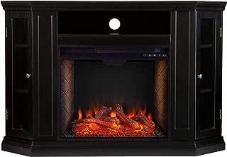 Best black corner fireplace Reviews