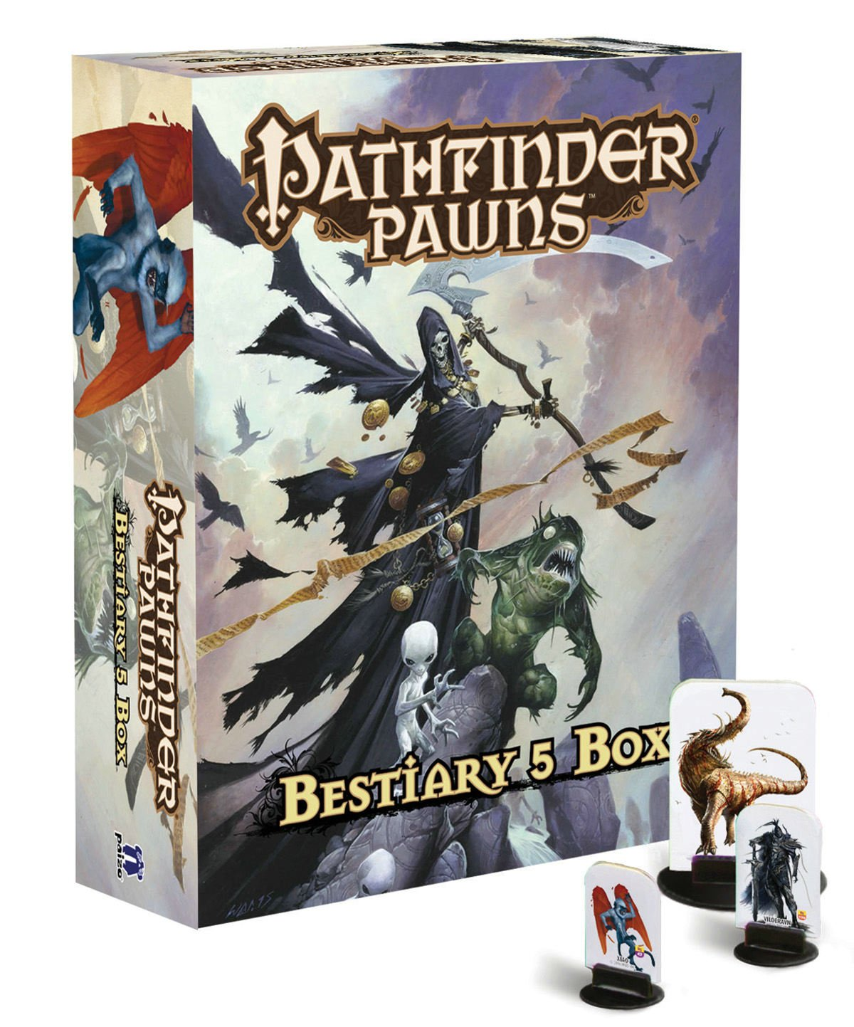 Pathfinder Pawns: Bestiary 5 Box: Staff, Paizo: Amazon.es: Juguetes y juegos