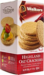 Walkers Shortbread Highland Oat Crackers, 9.9 Ounce (Pack of 6) Traditional Oatcake Crackers