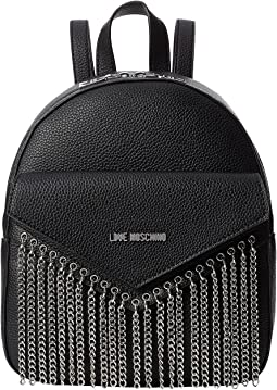 LOVE Moschino - Backpack Metal Chains