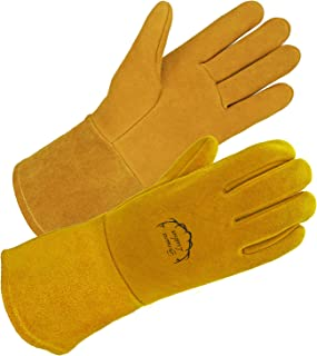 SD0039W/L -SKYDEER Premium Genuine Deerskin Leather Hi-Performance Welding Gloves