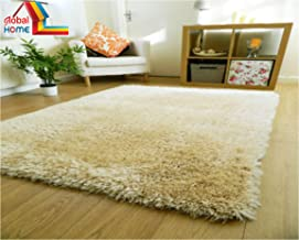Global Home Fashion Premium Carpets For Home, Room, Size 20 Inch X 32 Inch (Small Rug/Carpet) - Ivory