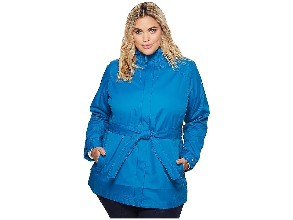 Columbia Plus Size Pardon My Trenchtm Rain Jacket (Jewel) Women