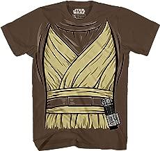 Star Wars OBI -Wan Ben Kenobi Costume Jedi Adult Men's Graphic T-Shirt Tee Apparel