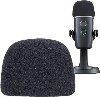 YOUSHARES Microphone Foam Windscreen - Mic Wind Cover Pop Filter Foam Cover, Professional Customized for Blue Yeti Nano