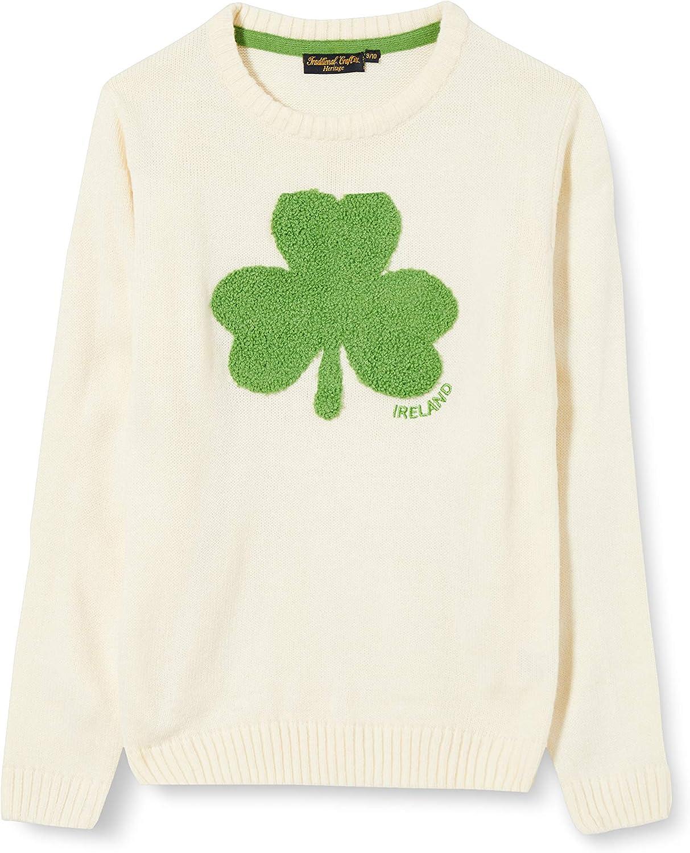Max 87% OFF Cream Knit Emerald Jumper Shamrock Kids Max 69% OFF