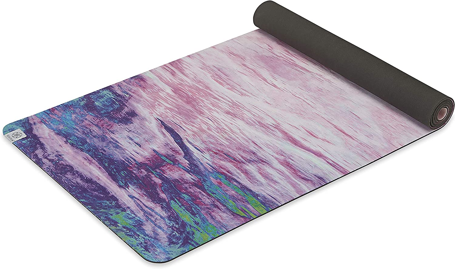 Gaiam Max 80% OFF Soft-Grip Yoga Mat - Microfiber Top Rubber Back Manufacturer OFFicial shop with Towel