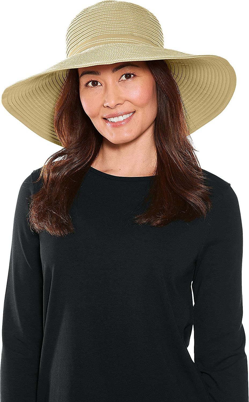 Coolibar UPF 50+ Women's Reversible Zoey Ribbon Hat - Sun Protective