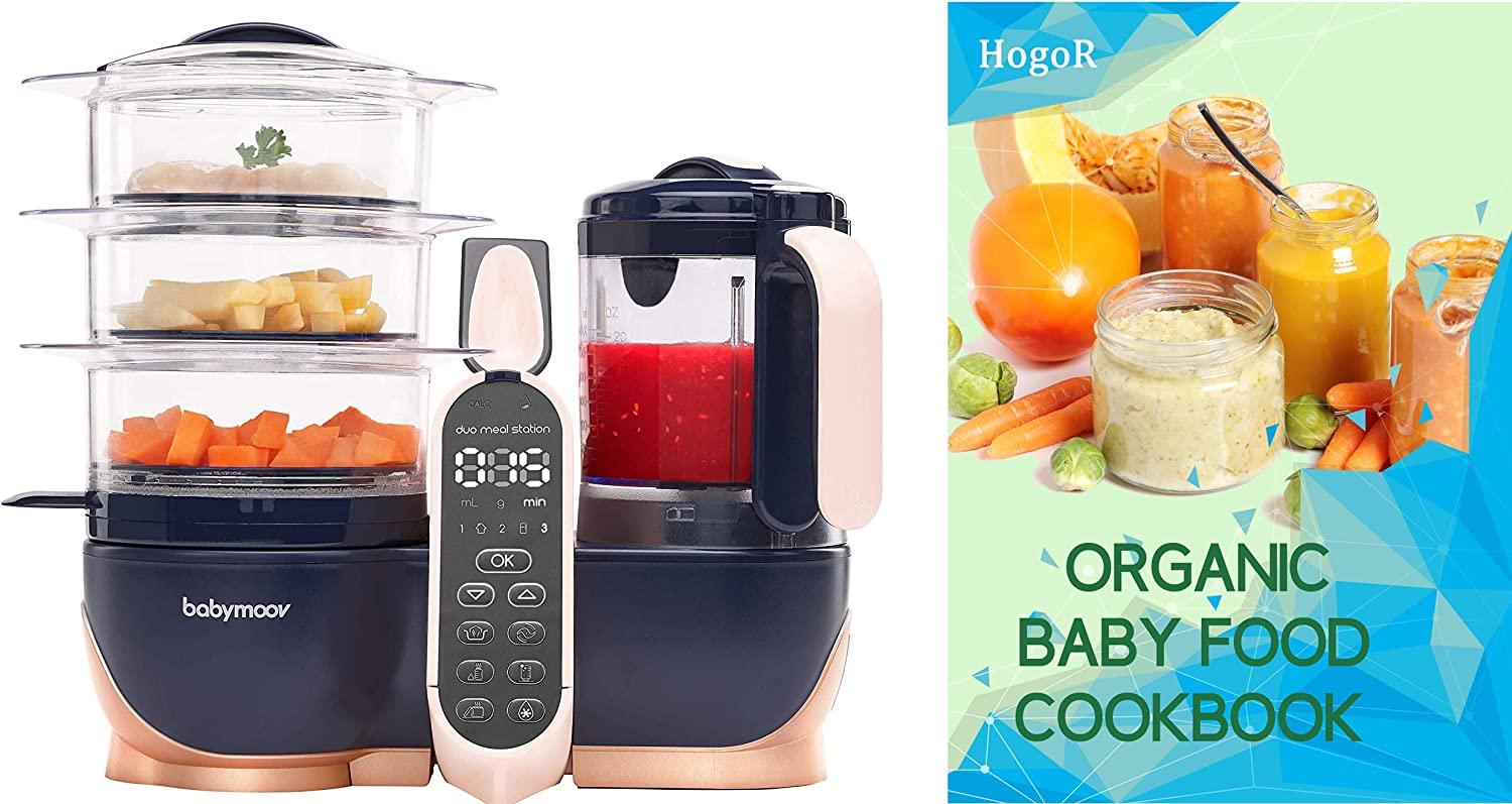 BabyMoov Duo Meal Station Weekly update XL High material 6 Steame Food Processor with 1 in