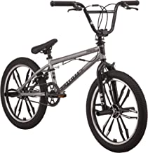 Mongoose Legion Mag Freestyle BMX Bike Featuring Hi-Ten Steel Frame and 40x16T BMX Gearing with 20-Inch Mag Wheels, Multiple Colors Available