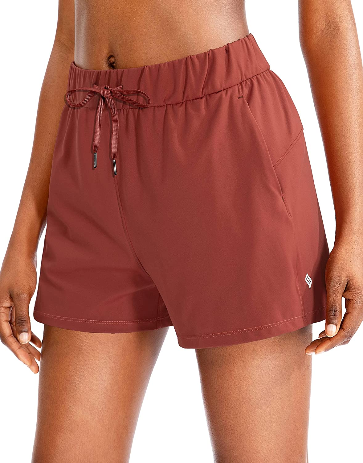 SANTINY Women's Lounge Shorts 2.5'' Quantity limited Ranking TOP4 Comfy Workout Hiking Athleti
