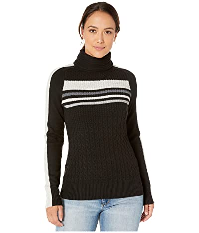 Smartwool Dacono Ski Sweater (Black) Women