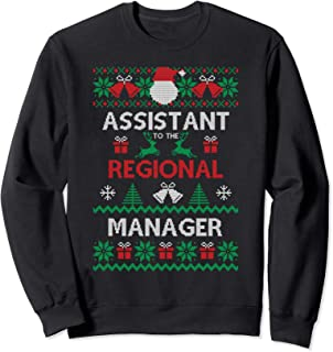 Assistant To The Regional Manager Ugly Christmas Sweatshirt