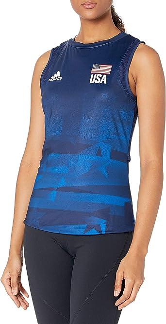 Amazon.com: adidas Women's Usav Jersey Primeblue W, Team Navy Blue ...