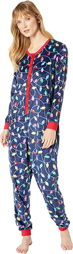 Get Lit Family Long Sleeve One-Piece Pajama