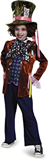 Mad Hatter Deluxe Alice Through The Looking Glass Movie Disney Costume, Large/10-12