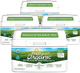 Happy Baby Organic Formula Packaging